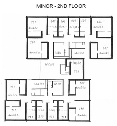 Minor - 2nd Floor