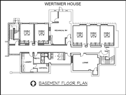 Wertimer House - Basement
