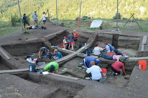2013 Archaeology Field School Site