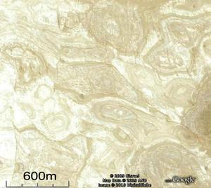 Circular structures on plateau 1.