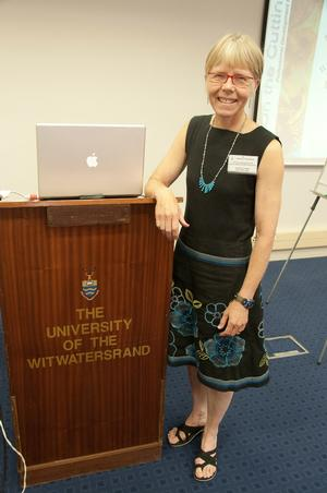 Professor of Geosciences Barbara Tewksbury at University of the Witwatersrand.