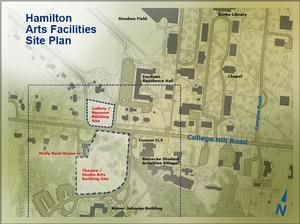 Arts Facilities Site Plan