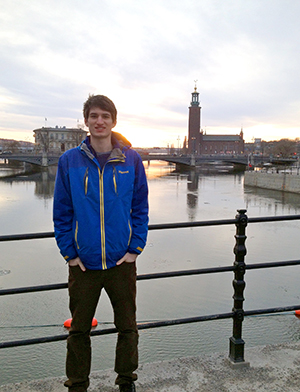 Robert Hayden '14 in Scandinavia
