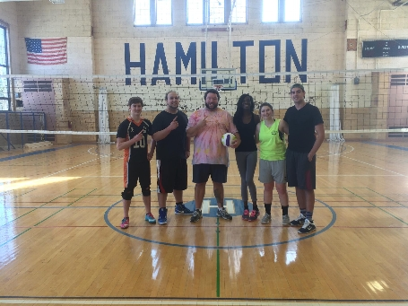 Winter Volleyball Champs: How I Set Your Mother