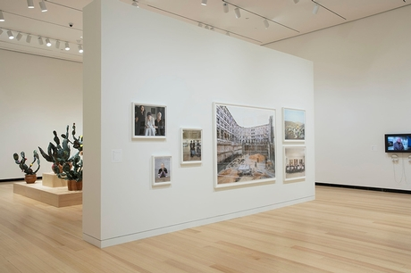 "Exhibition installation view of ""This Place."" Photograph by John Bentham."