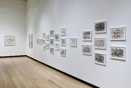 Exhibition installation view of
