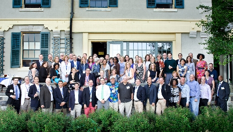 Alumni from the Class of 1990 gather at Rogers Estate during Reunions &apos;15.<br />Photo: Nancy L. Ford