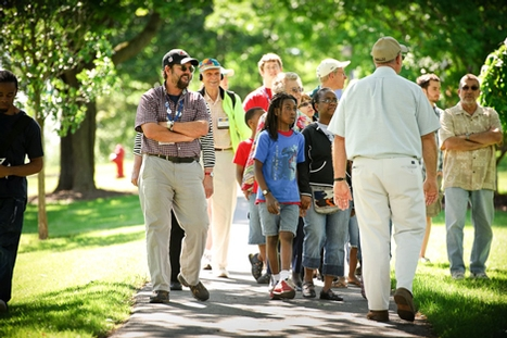 Bicentennial Tour: The Legacy of Trees on the Hamilton Campus, led by Arboretum Director Terry Hawkridge P'01.