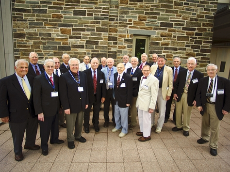 The Class of 1953 at Reunions '13