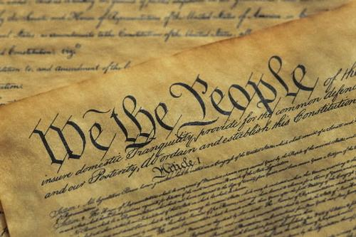 A description of the rights that are given to americans by the united states constitution