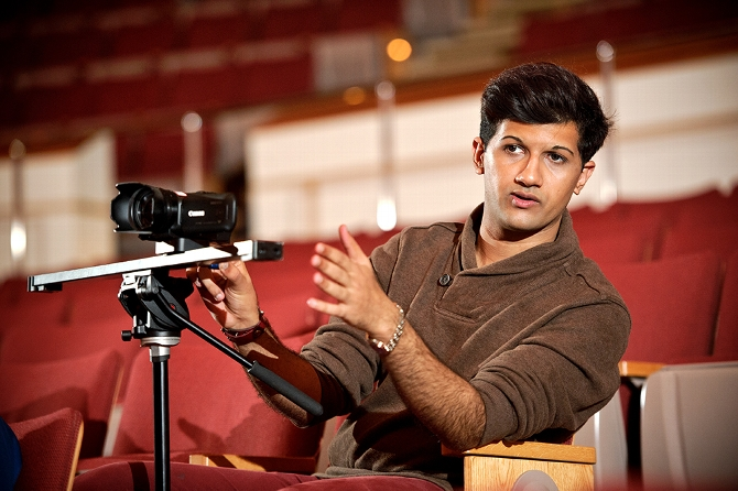 Asad Javed '15 Pursues His Love of Film