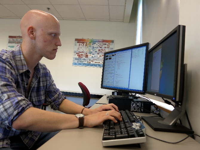 Nick Brewer '14 Researches People's Ability to Detect Lies