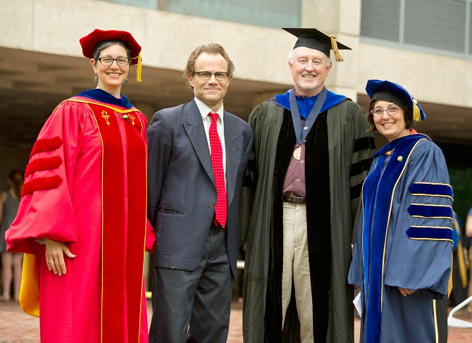 Dean's Scholarly Achievement Awards Presented to Five at Class & Charter Day