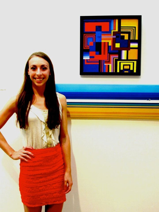 Alexandra Nasto '13: From Museum Intern to Exhibitor