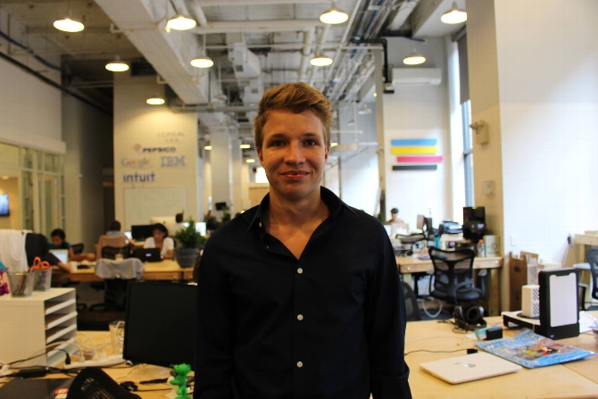 Mykhailo Antoniv '17 Entrenched in Tech in Dual Internship