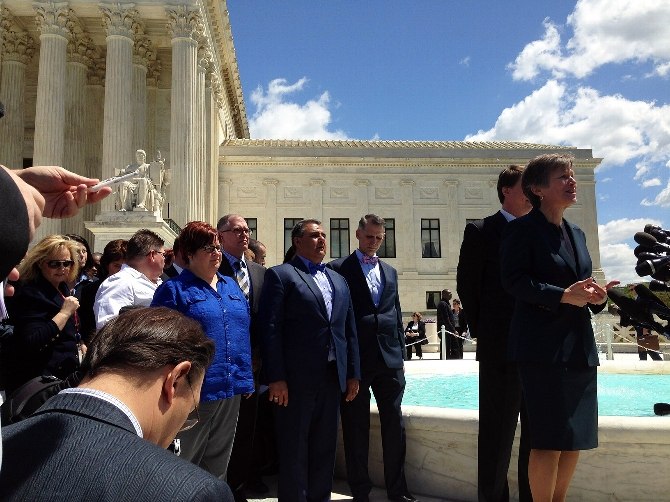 Mary L. Bonauto '83 Argues For Marriage Equality Before Supreme Court