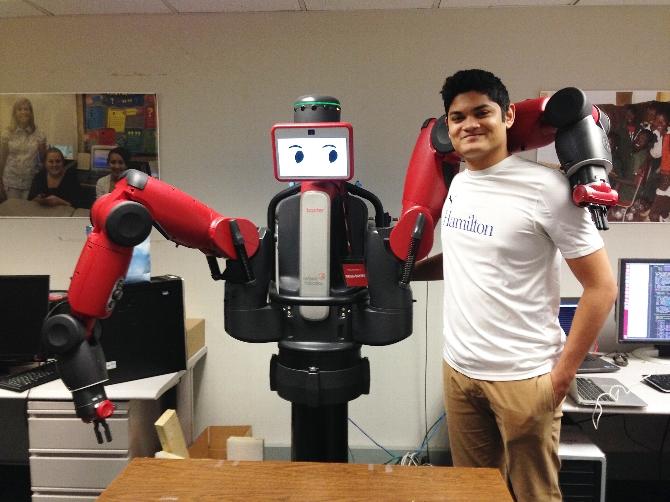 Hamilton's Mr. Roboto