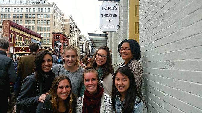 D.C. Program Students Visit  Ford's Theatre
