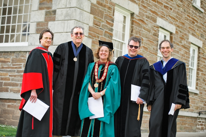 Dean's Scholarly Achievement Awards Presented to Six Faculty Members
