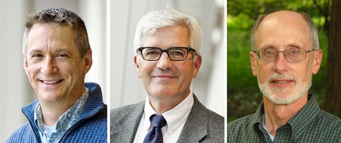 Three Longtime Science Faculty Members Retire