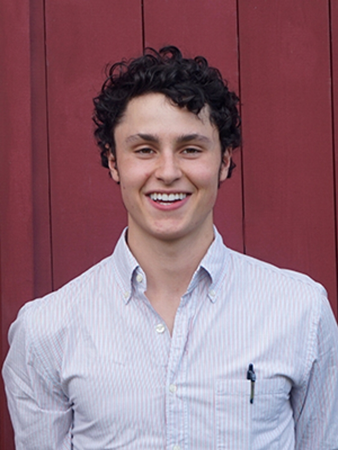 James Robbins '16 Exploring Public Health Challenges Through Levitt Grant