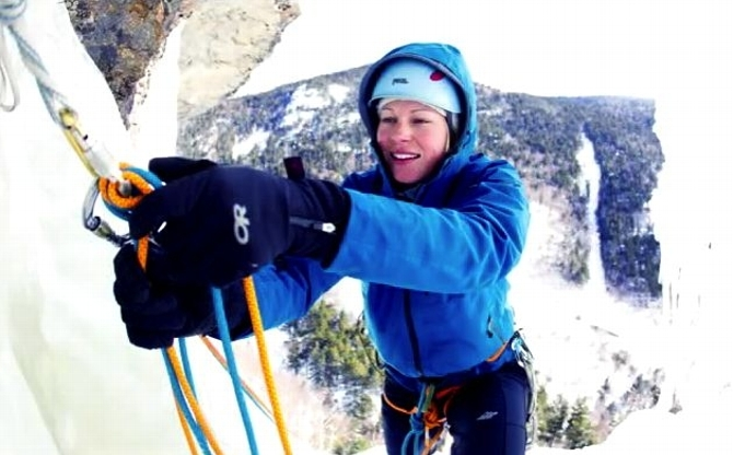 Alpine Climber Emilie Drinkwater Shares Tales of High Peaks