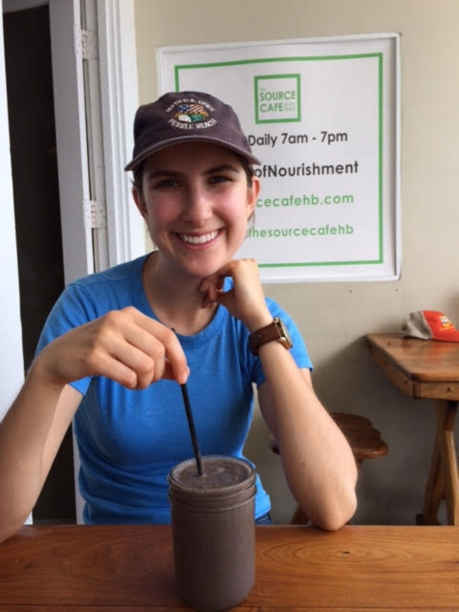 Maddy Fredrick '17 Gets a Taste of Sustainable Agriculture as Farmscape Intern