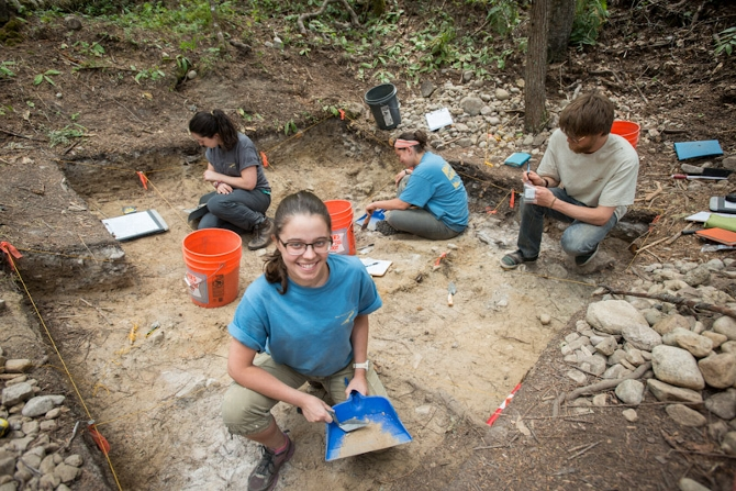 Archaeology Course Research Reveals Tribal Territory Expanse