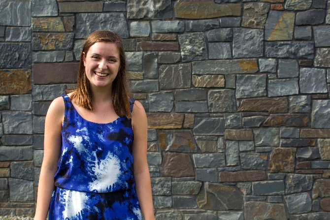 Hayley Goodrich '17 Looks into Binocular Rivalry in Neuroscience Research