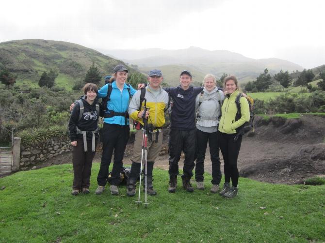 Outing Club Members Explore Ecuador