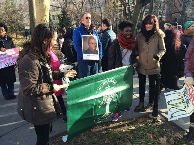 Hamilton Students, Faculty Join NYC Millions March
