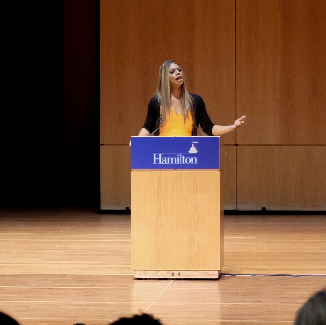 Laverne Cox Urges Understanding of Oppressed Groups