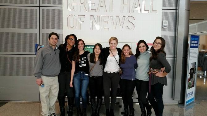 Hamilton D.C. Program Visits the Newseum