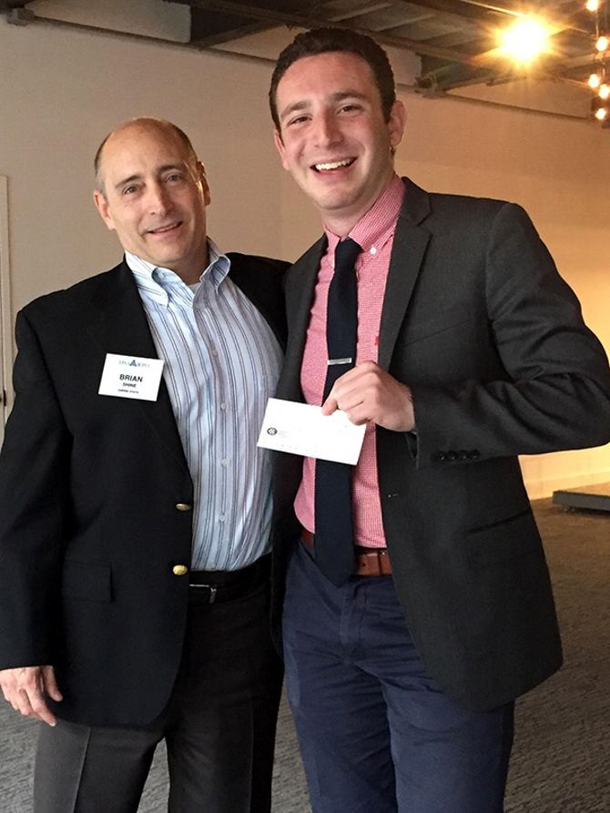 Pitch Competition Propelled Matlick '17  to Bigger Win