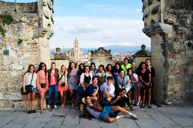 HCAYS Visits Salamanca and Segovia