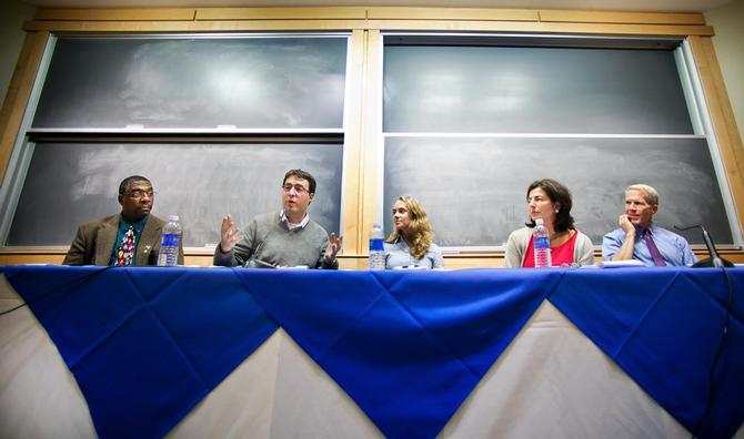 Social Entrepreneurs Urge Students to Connect Their Interests With Society's Issues