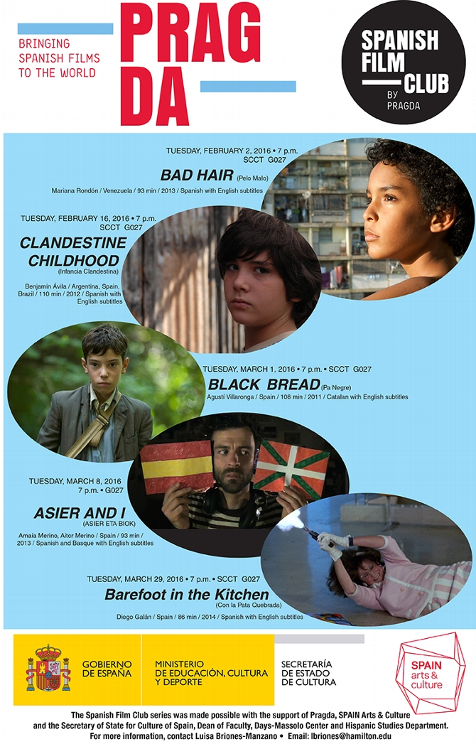 Spanish Film Club Festival Opens Feb. 2