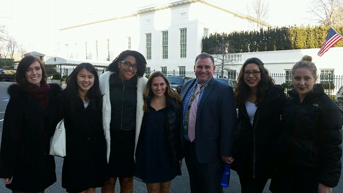 Inside the White House With James Dinneen '05