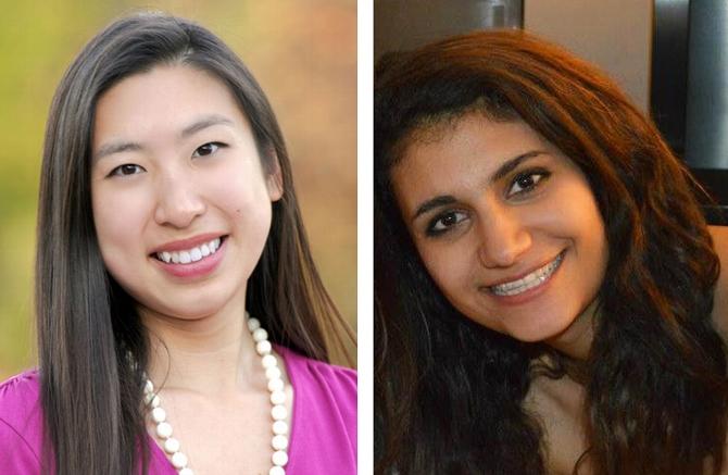 Lisa Yang '17, Aida Shadrav '17 Awarded Gilman Scholarships