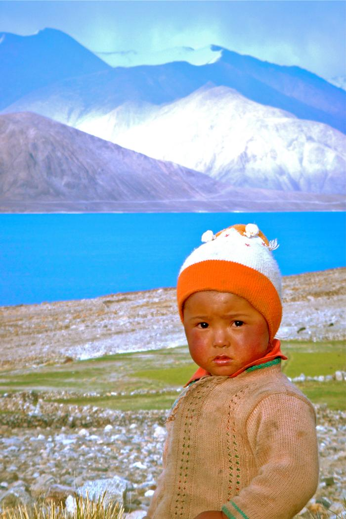Honorable Mention: 'Pangong Lake Child' by Shu Yi Grace Liew '12 PHOTO: SHU YI