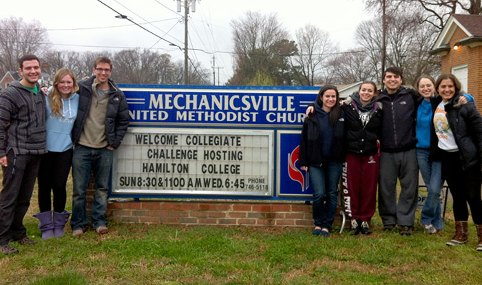 Hamilton ASB volunteers in Hanover County, Va.