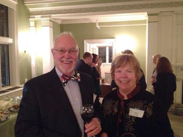 Gary Sutton '64 hosted the Buffalo, N.Y. party.
