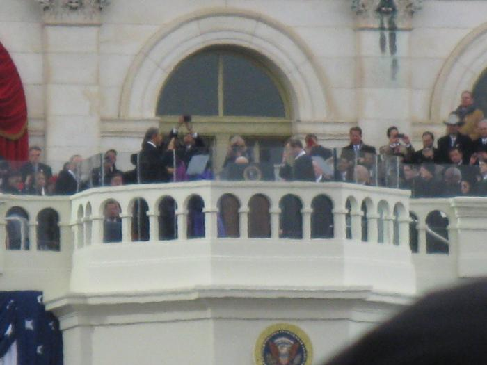 President Obama is sworn in for his second term in office.