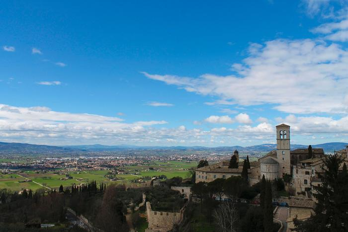 The view from Assisi. PHOTO: BY ANDREA WROBEL '13