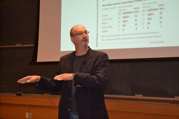 R. David Lankes gave the Couper Phi Beta Kappa Lecture on Oct. 10
