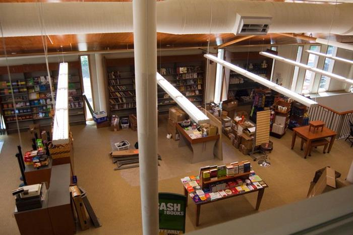 The main floor of the bookstore will house textbooks.