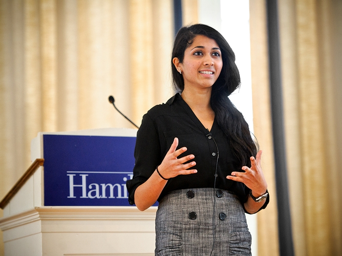 Sandhya Rao '15, Warren Wright Prize recipient