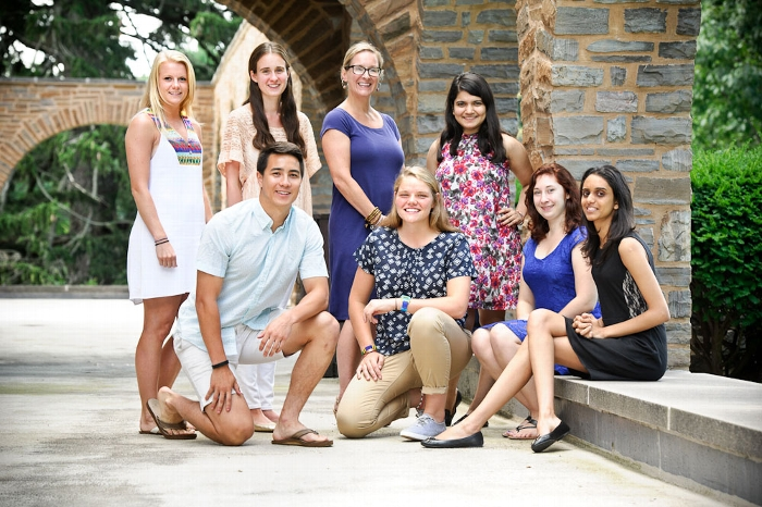 2015-16 Peer Advisors at Hamilton College
