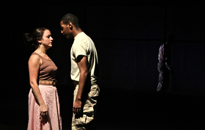 The Theatre Department presented Georg Büchner's Woyzeck, directed by Professor Carole Bellini-Sharp.