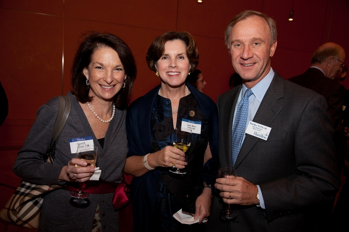 Nanelle Napp K'74, Amy and Mark Rice '73, P'01, '06